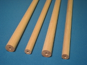 Radial laminated  ash tapered shaft